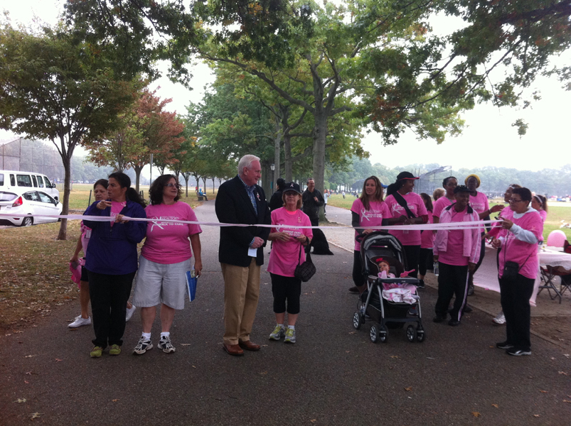 senator marty golden walk for the cure